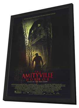 The Amityville Horror - 27 x 40 Movie Poster - Style A - in Deluxe Wood Frame