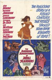 The Amorous Adventures of Moll Flanders - 27 x 40 Movie Poster - Style A