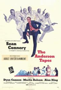 The Anderson Tapes - 11 x 17 Movie Poster - Style A