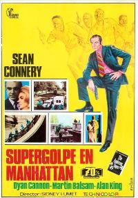 The Anderson Tapes - 27 x 40 Movie Poster - Spanish Style A