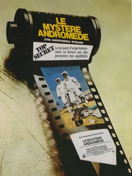 The Andromeda Strain - 11 x 17 Movie Poster - French Style A