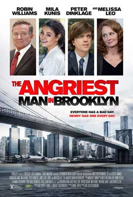 The Angriest Man in Brooklyn - 11 x 17 Movie Poster - Style A