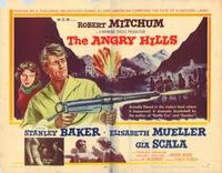 The Angry Hills - 22 x 28 Movie Poster - Half Sheet Style A