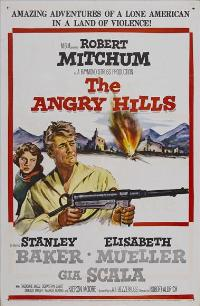The Angry Hills - 27 x 40 Movie Poster - Style B