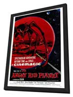 The Angry Red Planet - 27 x 40 Movie Poster - Style A - in Deluxe Wood Frame