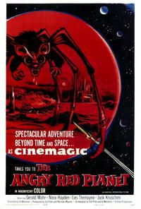 The Angry Red Planet - 27 x 40 Movie Poster - Style A