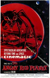 The Angry Red Planet - 43 x 62 Movie Poster - Bus Shelter Style A