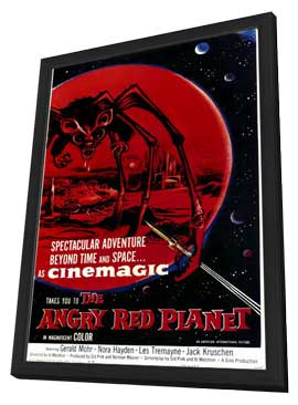 The Angry Red Planet - 11 x 17 Movie Poster - Style A - in Deluxe Wood Frame