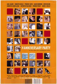 The Anniversary Party - 43 x 62 Movie Poster - Bus Shelter Style A