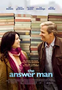 The Answer Man - 43 x 62 Movie Poster - Bus Shelter Style A