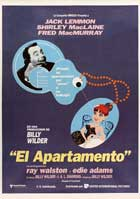 The Apartment - 27 x 40 Movie Poster - Spanish Style C