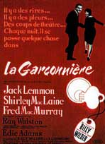 The Apartment - 11 x 17 Movie Poster - French Style B