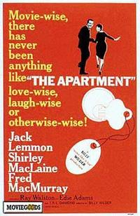 The Apartment - 43 x 62 Movie Poster - Bus Shelter Style A