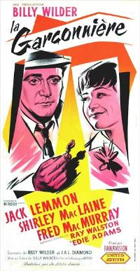 The Apartment - 11 x 17 Movie Poster - French Style A