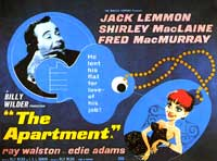 The Apartment - 22 x 28 Movie Poster - Half Sheet Style A