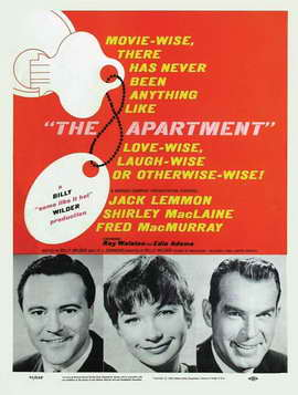 The Apartment - 11 x 17 Movie Poster - Style D