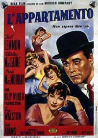 The Apartment - 11 x 17 Movie Poster - Spanish Style D