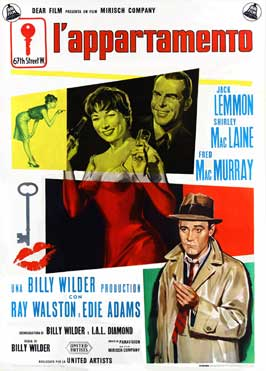 The Apartment - 11 x 17 Movie Poster - Italian Style A
