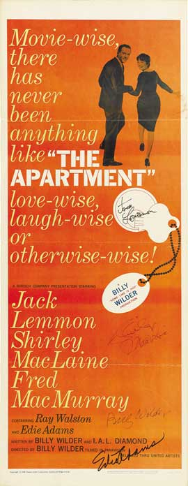 The Apartment - 14 x 36 Movie Poster - Insert Style A