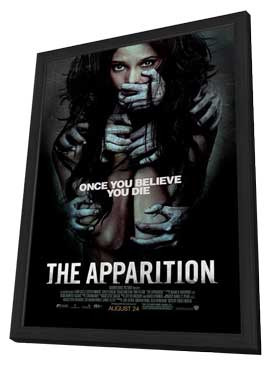 The Apparition - 11 x 17 Movie Poster - Style A - in Deluxe Wood Frame