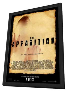 The Apparition - 11 x 17 Movie Poster - Style B - in Deluxe Wood Frame