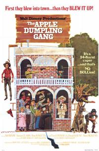 The Apple Dumpling Gang - 11 x 17 Movie Poster - Style B