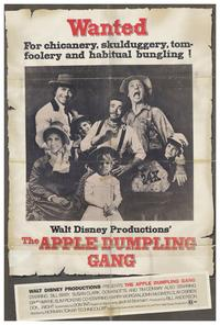 The Apple Dumpling Gang - 27 x 40 Movie Poster - Style A