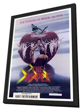 The Apple - 27 x 40 Movie Poster - Style A - in Deluxe Wood Frame