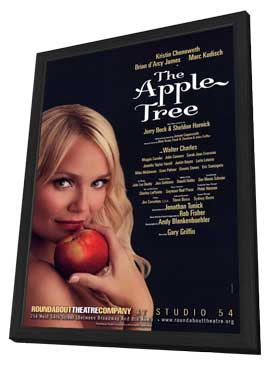 The Apple Tree (Broadway) - 11 x 17 Poster - Style A - in Deluxe Wood Frame