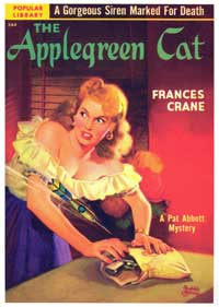 The Applegreen Cat - 11 x 17 Retro Book Cover Poster