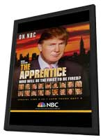 The Apprentice - 27 x 40 TV Poster - Style A - in Deluxe Wood Frame