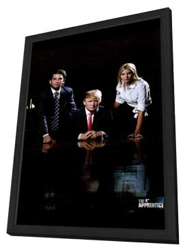 The Apprentice - 11 x 17 TV Poster - Style C - in Deluxe Wood Frame