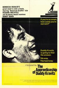 The Apprenticeship of Duddy Kravitz - 11 x 17 Movie Poster - Style A