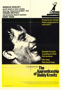 The Apprenticeship of Duddy Kravitz - 27 x 40 Movie Poster - Style A
