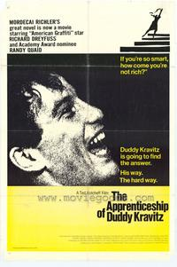 The Apprenticeship of Duddy Kravitz - 43 x 62 Movie Poster - Bus Shelter Style A
