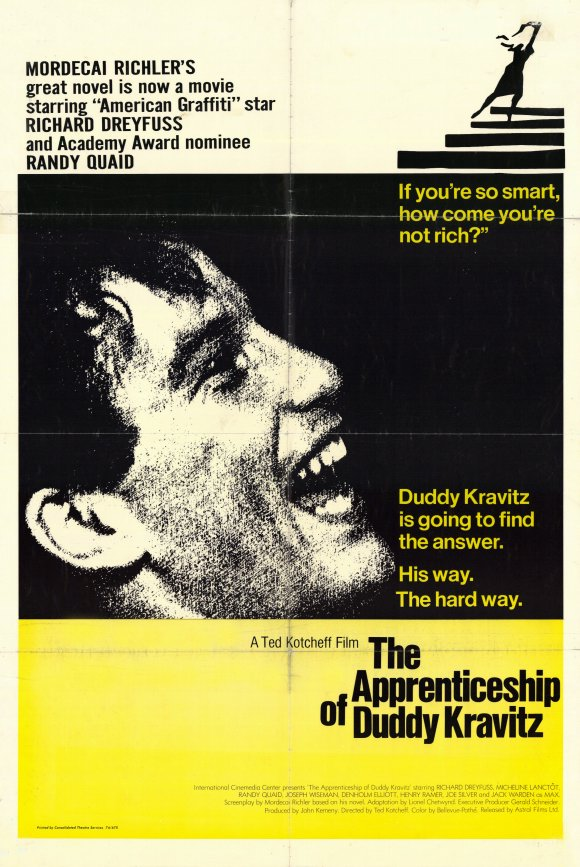 the apprenticeship of duddy kravitz The apprenticeship of duddy kravitz - kindle edition by mordecai richler download it once and read it on your kindle device, pc, phones or tablets use features like.