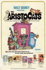 Aristocats, The - 11 x 17 Movie Poster - Style A