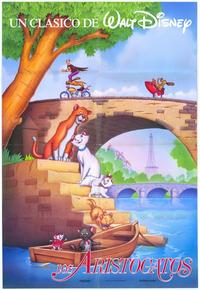 Aristocats, The - 11 x 17 Movie Poster - Spanish Style A