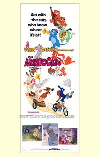 Aristocats, The - 27 x 40 Movie Poster - Style B