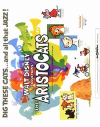 Aristocats, The - 22 x 28 Movie Poster - Half Sheet Style A