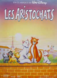 Aristocats, The - 27 x 40 Movie Poster - French Style A