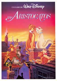 Aristocats, The - 11 x 17 Movie Poster - Spanish Style C