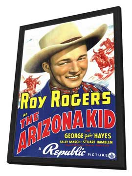 The Arizona Kid - 11 x 17 Movie Poster - Style A - in Deluxe Wood Frame
