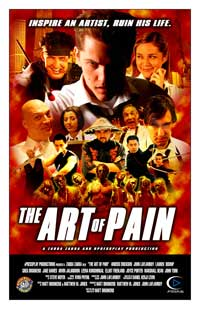 The Art of Pain - 11 x 17 Movie Poster - Style B