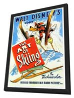 The Art of Skiing - 27 x 40 Movie Poster - Style A - in Deluxe Wood Frame
