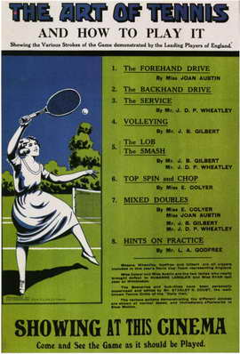 The Art of Tennis and How to Play It - 11 x 17 Poster - Foreign - Style A