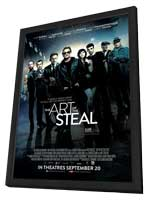 The Art of the Steal - 11 x 17 Movie Poster - Canadian Style A - in Deluxe Wood Frame