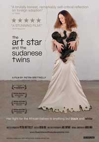 The Art Star and the Sudanese Twins - 11 x 17 Movie Poster - Style A