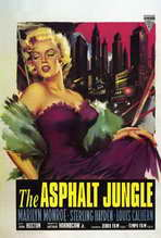 The Asphalt Jungle - 27 x 40 Movie Poster - Style A