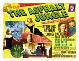 The Asphalt Jungle - 11 x 14 Poster UK Style A